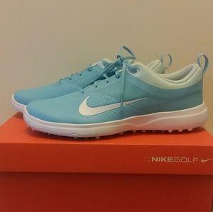 d1ec6f8eac94 NEW Nike Akamai Golf Shoes Vivid Glacier Sky blue
